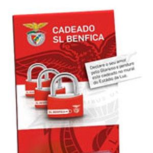 Cadeado Oficial do Sport Lisboa e Benfica